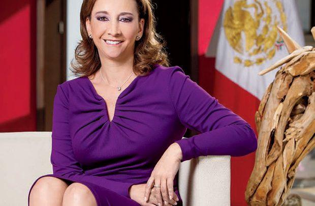 Nombra Enrique Ochoa Reza a Claudia Ruiz Massieu como Secretaria de Organización del CEN del PRI