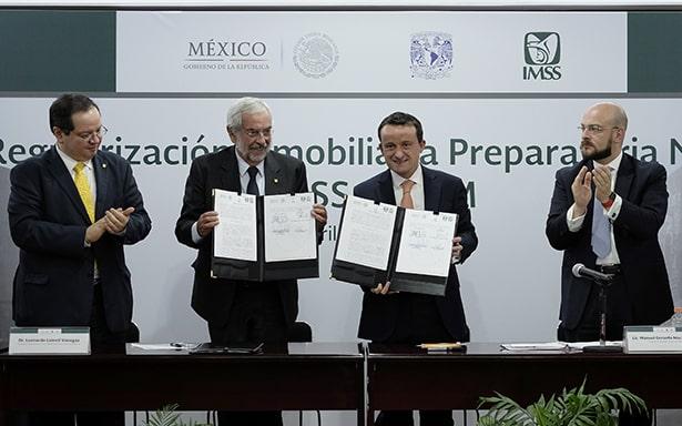 El IMSS y la UNAM regularizan predio que ocupa la preparatoria 9 desde 1964