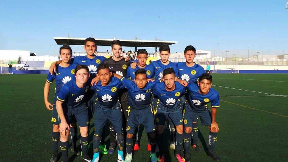 América Sub15 obtiene Tercer Lugar en Torneo de Fuerzas Básicas de España
