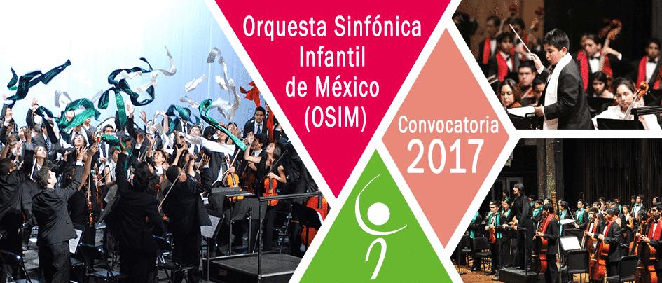El Sistema Nacional de Fomento Musical invita a formar parte de la Orquesta Sinfónica Infantil de México