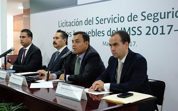 Recibe IMSS 11 ofertas técnicas y económicas para la Licitación del Servicio de Seguridad