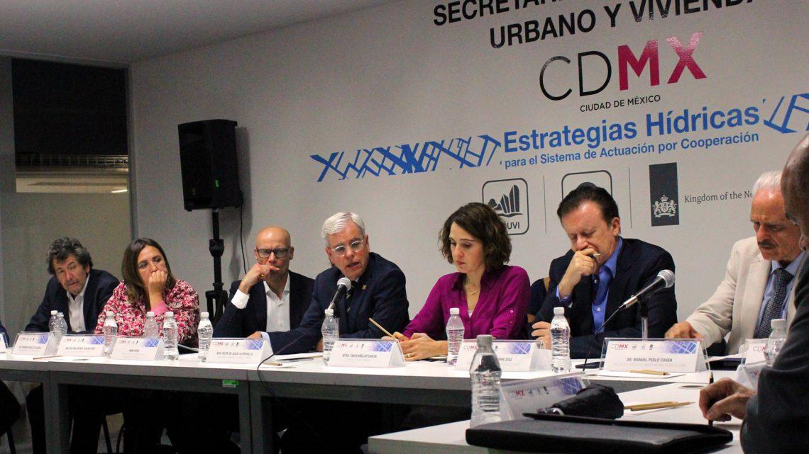 Realizan mesa para plantear estrategias hídricas a favor del desarrollo urbano