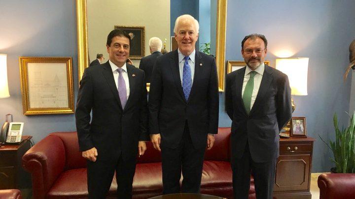 Se reúne el Canciller Luis Videgaray con el Vicecoordinador Parlamentario del Partido Republicano en el Senado de EUA