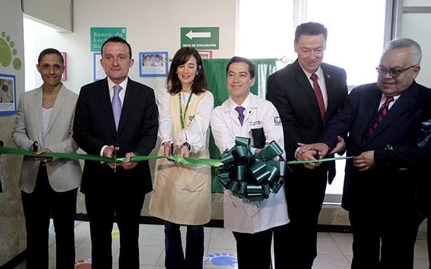 El IMSS abre primer banco de leche materna para recién nacidos