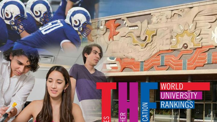 Sube el Tec y se ubica en el lugar 6 del THE Latin America University Rankings