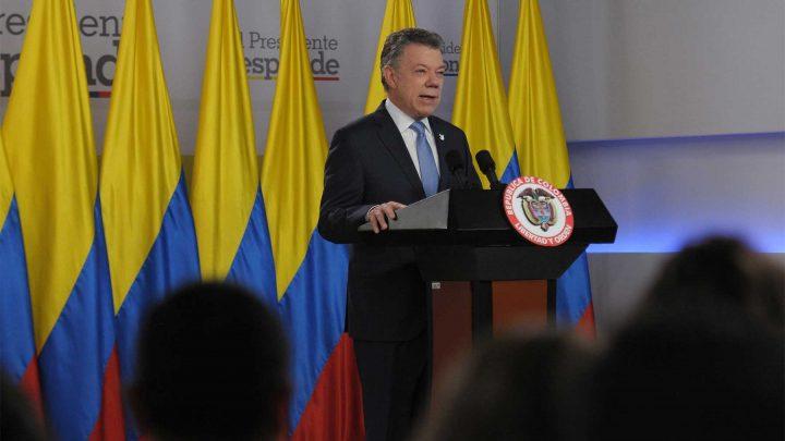 La asamblea constituyente es la culminación de la destrucción de la democracia en Venezuela, advirtió el Presidente Santos