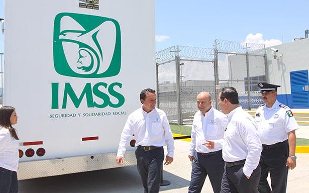 Atención Médica Especializada en Centro Penitenciario gracias a la colaboración de IMSS, CNS y Cofepris