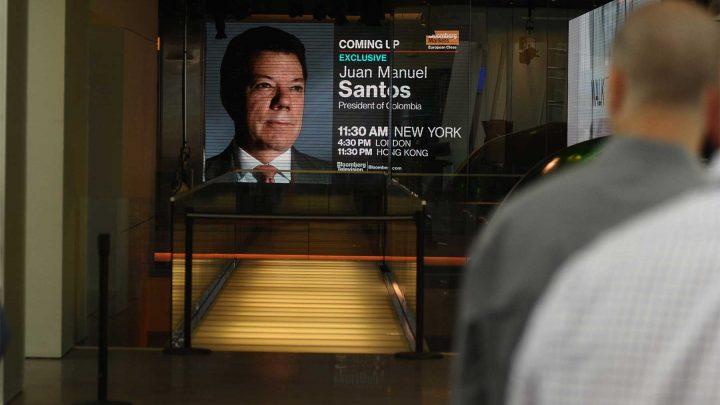 Para Colombia el narcotráfico es un tema de seguridad nacional, asevera el Presidente Santos