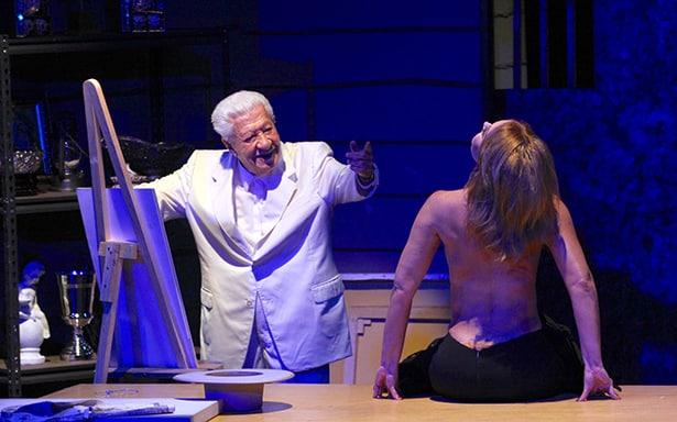 Rinde IMSS homenaje a Ignacio López Tarso, pone su nombre a Teatro Guadalajara
