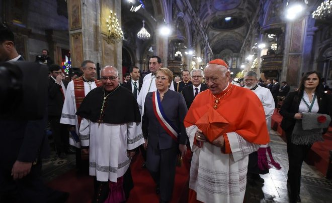 Participó Michelle Bachelet en Te Deum Ecuménico de Acción de Gracias