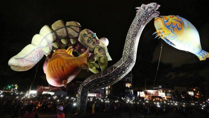 Plasticiens Volants, y su mundo marino, marcan el arranque de SUCEDE en La Minerva
