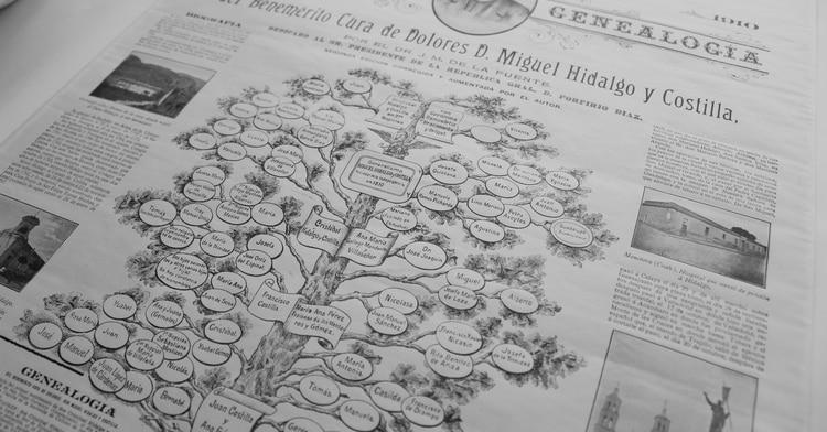 Genealogía y biografía de Miguel Hidalgo en Maravillas de nuestra Historia