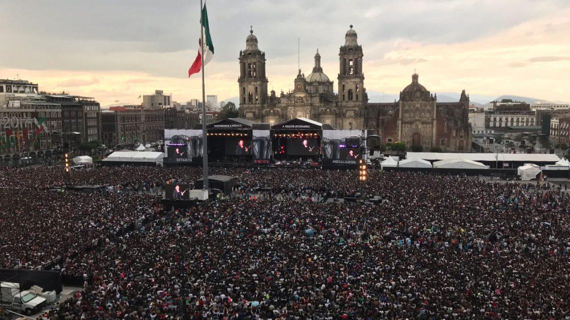¡México está de pie!