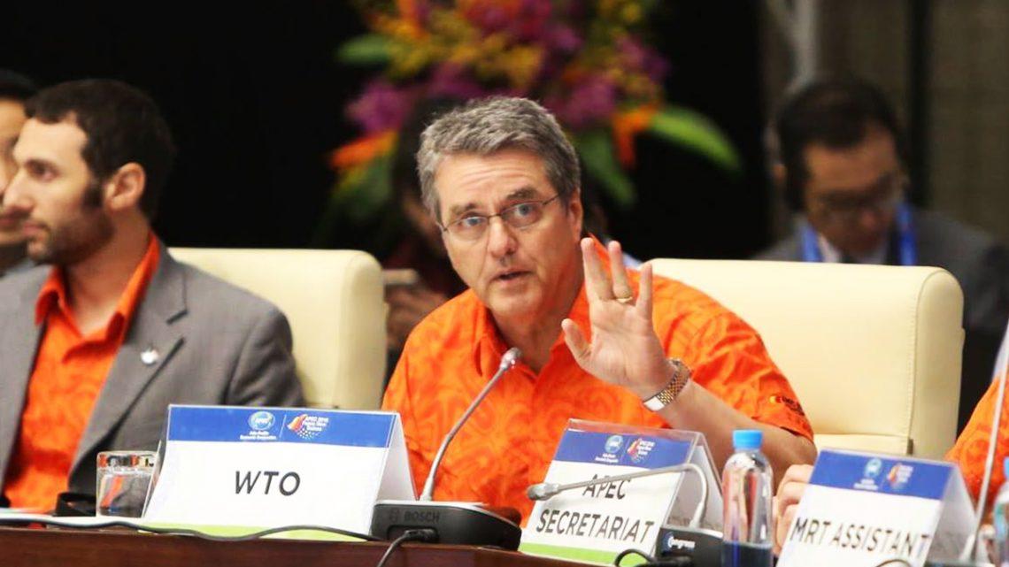 El Director General  de la OMC pide a los miembros del APEC que ayuden a afrontar los desafíos del comercio mundial