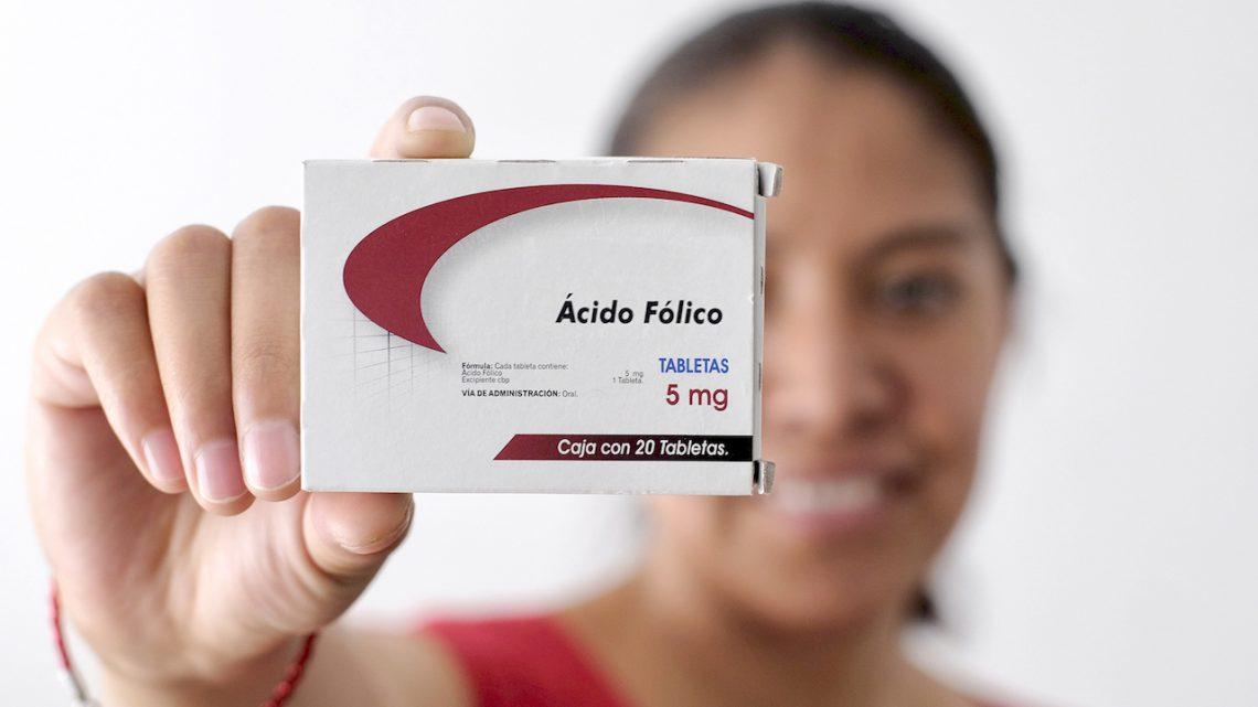 Promueve IMSS la toma de ácido fólico durante embarazo para prevenir defectos neurológicos en bebés