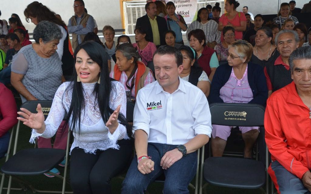 Recorren hoy Mikel y Dip. Janet Hernández Sotelo pueblos y barrios de Iztapalapa para promover el voto