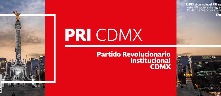 Prevalece unidad y fortaleza en torno a candidatos del PRI CDMX