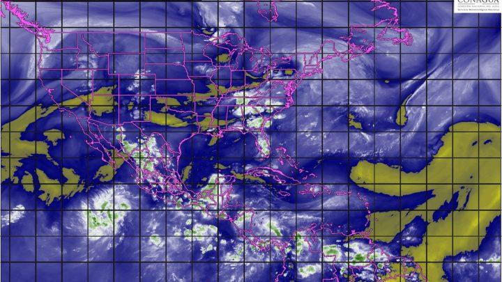 Tormentas intensas se prevén para esta noche en zonas de Guerrero, Oaxaca, Chiapas y Veracruz