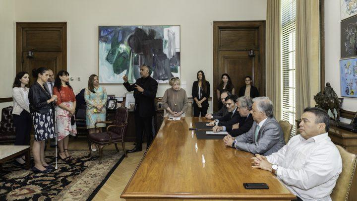 OEA y Grupo ONCE de España acuerdan acciones conjuntas para defender derechos de personas con discapacidad