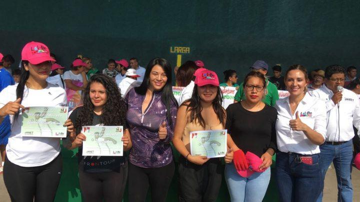 Refuerzan voto a favor de Mikel Arriola en Iztapalapa Diputada Janet Hernández y candidata a la Alcaldía Lolbe Peraza