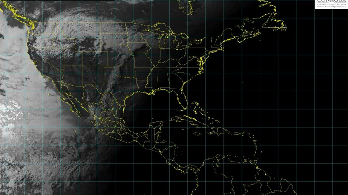Cinco sistemas meteorológicos ocasionarán en las siguientes horas un temporal de lluvias en la mayor parte de México