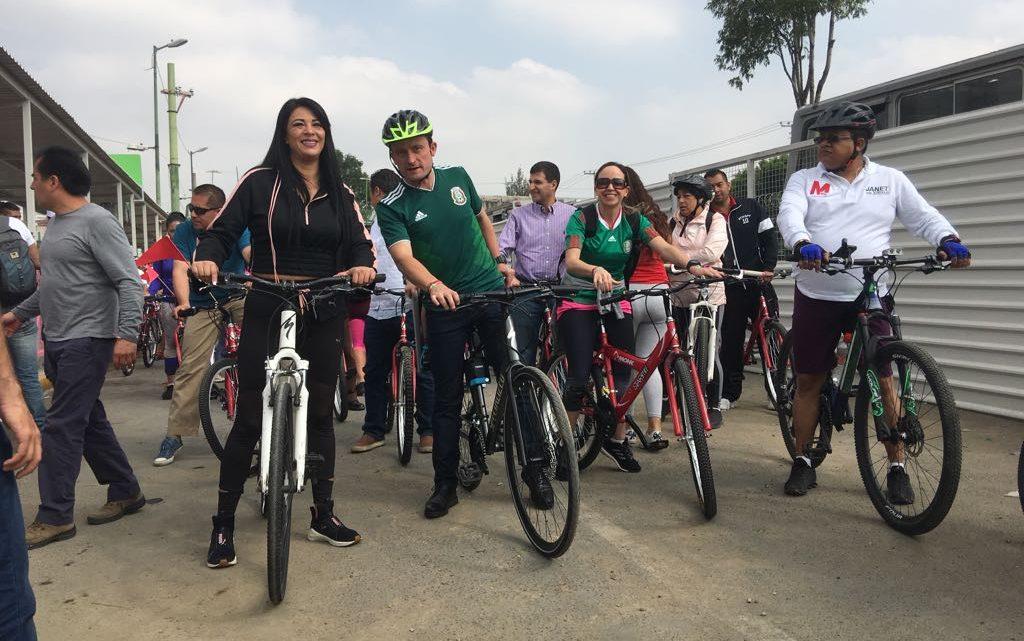 Con acuaferico Mikel Arriola y Janet Hernández le quitarán la sed a Iztapalapa