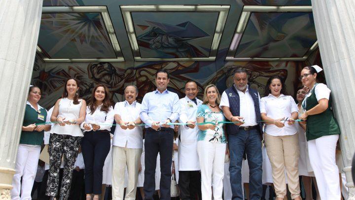 Con mejor infraestructura y servicios, IMSS reinaugura clínica 20 de Cuernavaca
