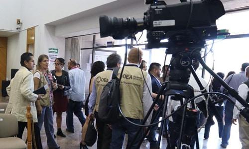 La Misión de Visitantes Extranjeros de la OEA inicia su despliegue en México para las elecciones del 1 de julio