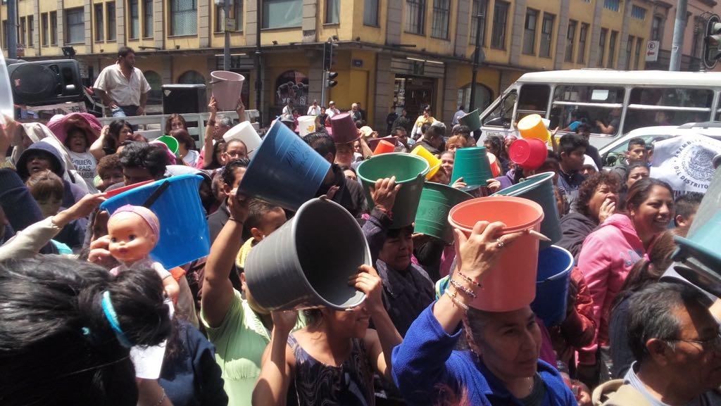 Secretaria de Comisión del Agua de ALDF, Dip Janet Hernández, llama a población a tomar previsiones serias ante desabasto de agua
