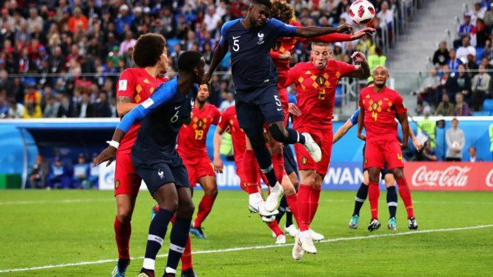 Francia vence 1-0 a Bélgica, por tercera ocasión en su historia va a la final de la Copa del Mundo