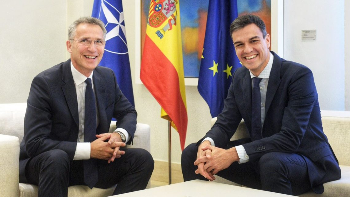 Visiting Madrid on Tuesday (3 July 2018), NATO Secretary General Jens Stoltenberg met with Prime Minister Pedro Sánchez to discuss preparations for the NATO Summit in Brussels next week.