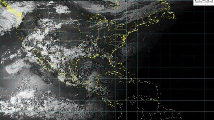 Para las próximas horas se pronostican tormentas de fuertes a muy fuertes en la mayor parte de México