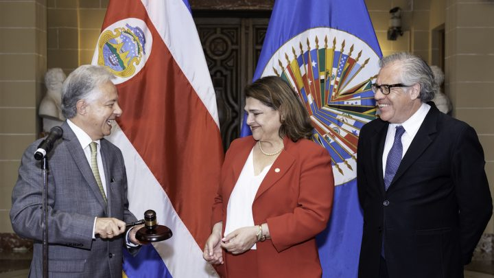 Costa Rica asume la Presidencia del Consejo Permanente de la OEA