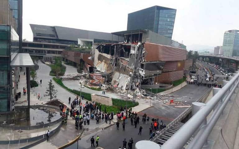 Pide Protección Civil de la ALDF investigar derrumbe de Plaza Comercial Artz