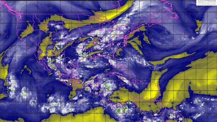 En regiones de Coahuila, Veracruz, Oaxaca y Chiapas se prevé un temporal de lluvias para esta noche