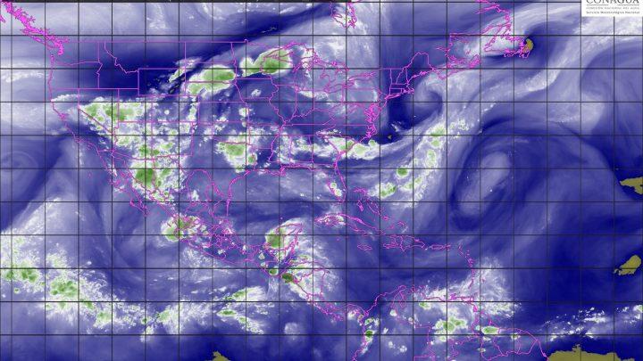 Se prevé lluvia muy fuerte y granizo en ocho estados por onda tropical
