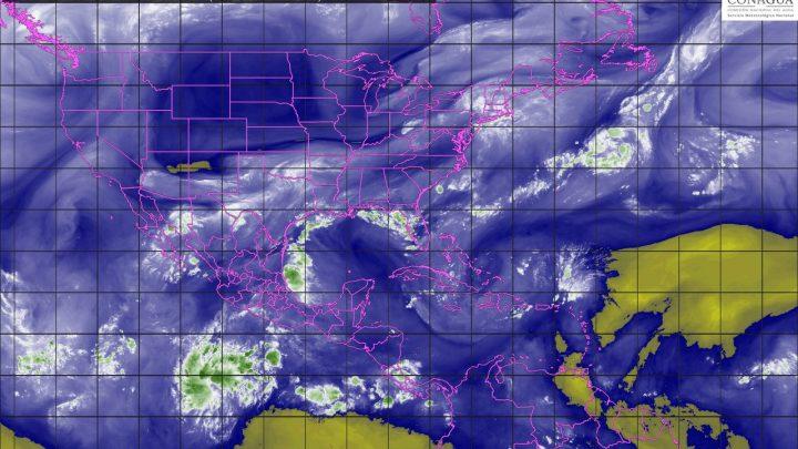 En CDMX y EdoMex se estiman tormentas fuertes con actividad eléctrica y granizo