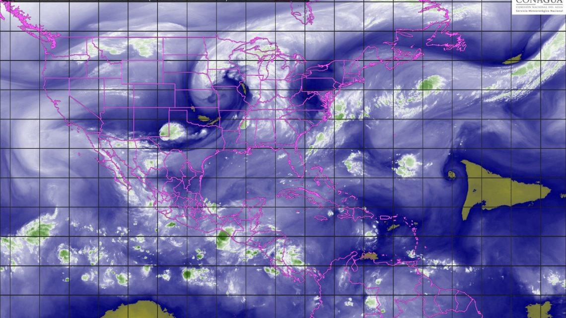 Tormentas intensas se prevén para hoy en regiones de Sinaloa y Nayarit