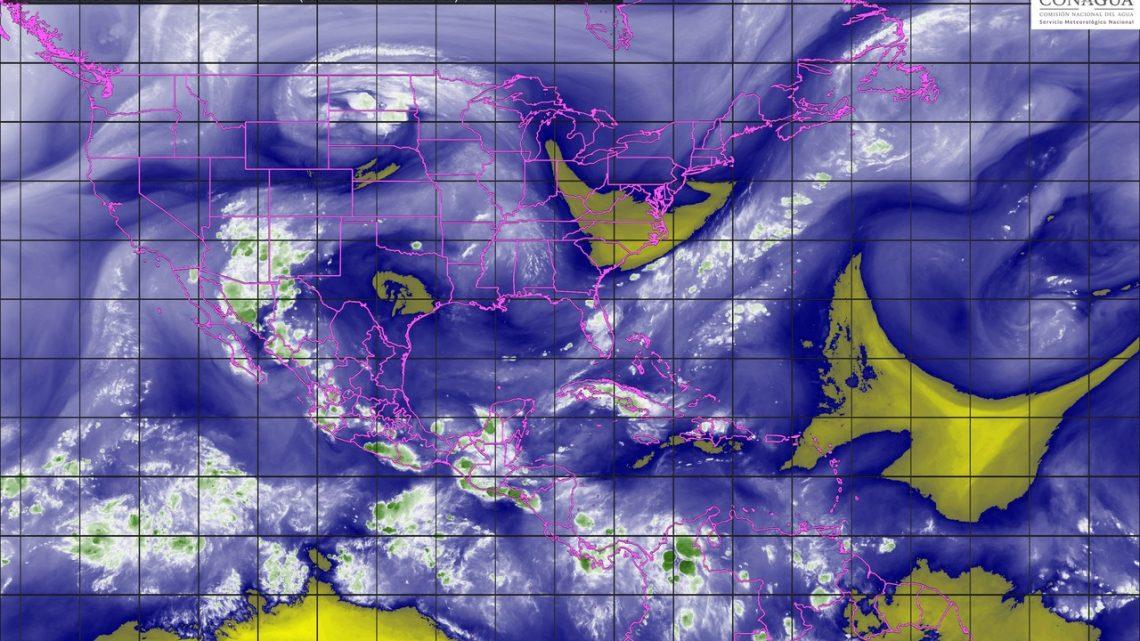 Tormentas muy fuertes se prevén para Sonora, Guerrero, Veracruz, Oaxaca y Chiapas
