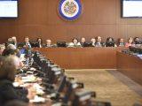 Aprueba OEA creación de Grupo de Trabajo para buscar soluciones pacíficas a situación en Nicaragua