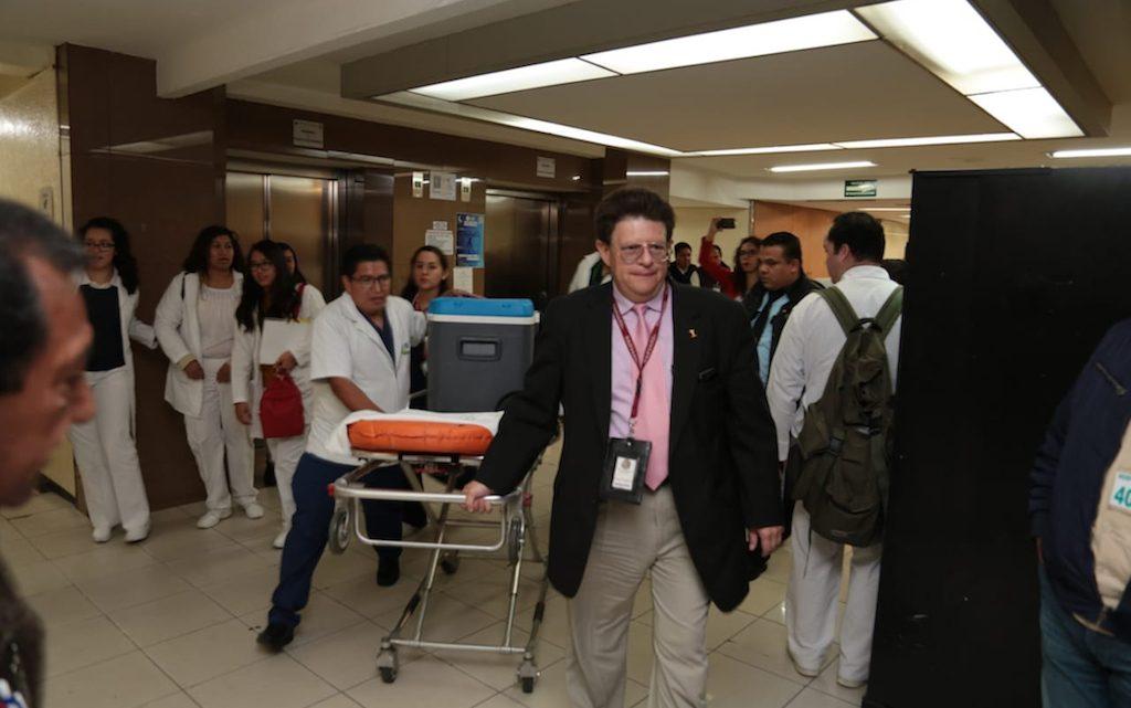 Llega décimo corazón al Hospital La Raza