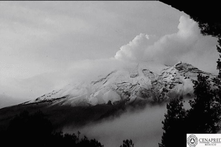 Recomienda Protección Civil de ALDF estar alertas en CDMX ante actividad del volcán Popocatepetl