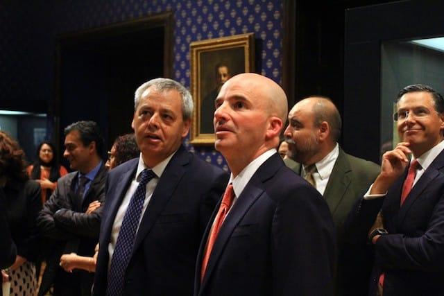 Izq-Der René Curiel Obscura y José Antonio González Anaya