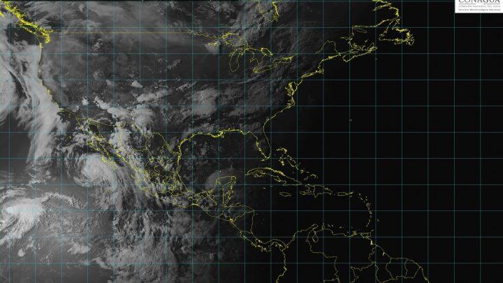 John disminuirá intensidad de vientos a los de tormenta tropical