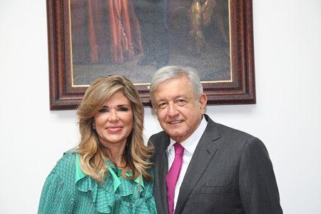 Se reúne Gobernadora Pavlovich con el Presidente Electo