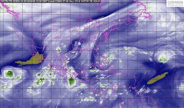 En Nayarit y Jalisco, se prevén tormentas intensas