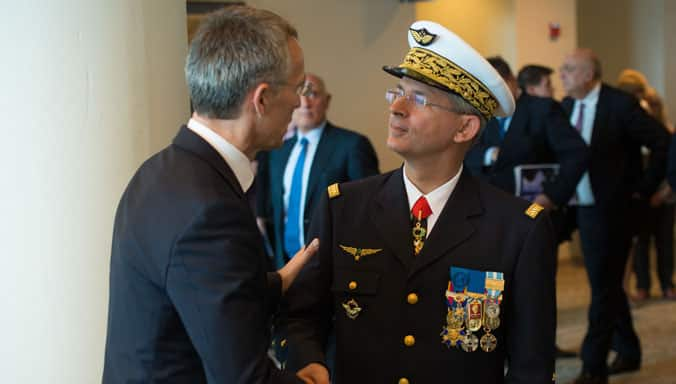 NATO welcomes new Supreme Allied Commander Transformation