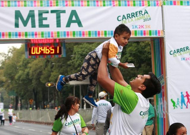 Más de 5 mil personas participaron en Carrera de la Familia IMSS 2018