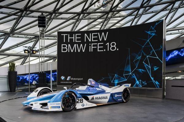 Listos en BMW para temporada 5 del Campeonato ABB Fórmula E de la FIA