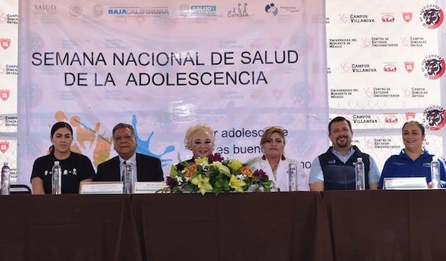Arranca Gobierno de Baja California Semana Nacional de Salud de la Adolescencia